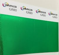 GR80 Película Verde de Estampado Univacco